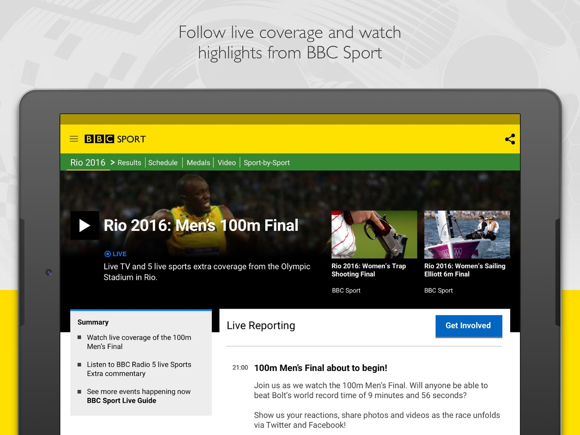 BBC Sport screenshot #11