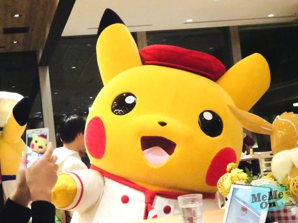 日本 精靈寶可夢 咖啡 「 Pokémon Cafe 」 皮卡丘 主廚出來和你打招呼!