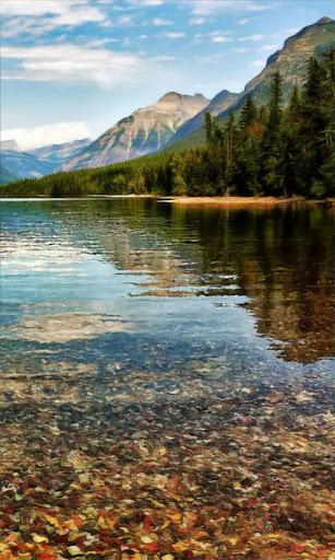 Wonderful mountain mirror