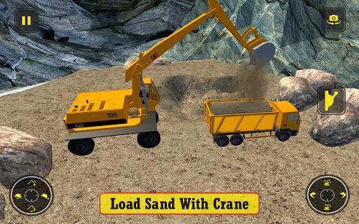 Construction Simulator Heavy Truck Driver apkmartins screenshots 1