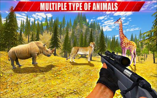 Animal Hunting Sniper Shooter: Jungle Safari apktram screenshots 7