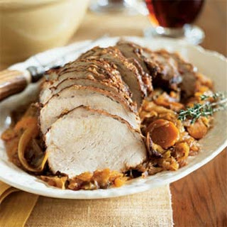 Pork Loin Braised with Cabbage