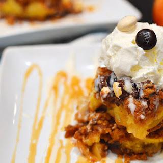 Caramel & Sea Salt Apple Bars with Pecan Pie M&M's®