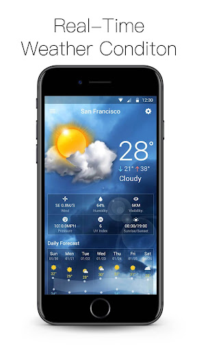 Daily weather forecast&live weather Screenshot