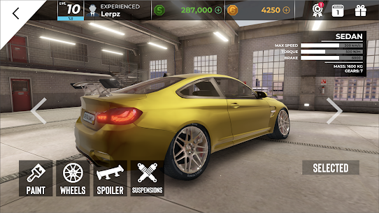 Real Car Parking Master MOD (Unlimited Money) 4