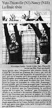 Photo: Finale de la coupe de Lorraine contre Nancy N1B