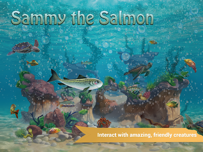 Sammy the Salmon- screenshot