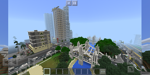 Los Dangeles. Map for MCPE 1.1.3 screenshots 7