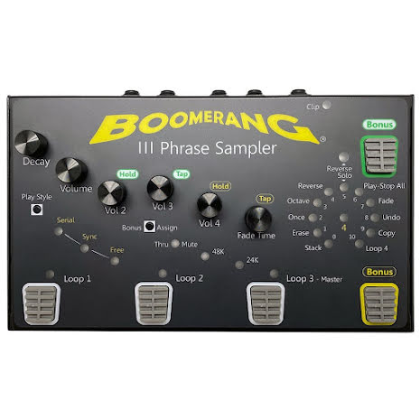 Boomerang Rang III Phrase Sampler