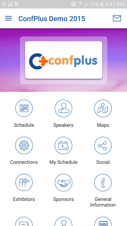 ConfPlus- screenshot