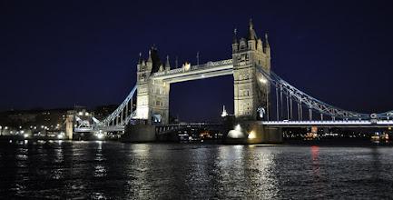 Photo: Tower Bridge at night
