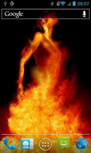 Volcanic girl Live WP