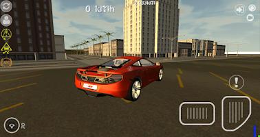 Screenshot of Turbo GT Car Simulator 3D