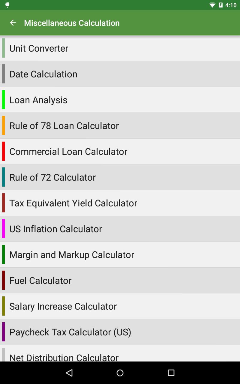 Financial Calculators screenshot #23