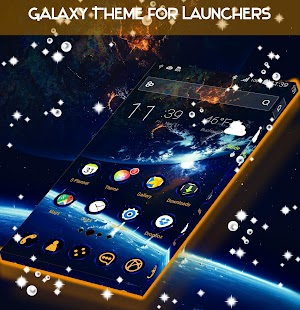 Galaxy Theme for Launchers - náhled