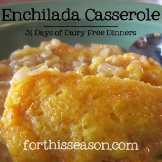 Enchilada Casserole (Dairy Free Recipe)