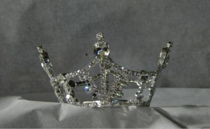 """Diameter: 3.00"""" Height: 2.00""""  $60 value *** MUST HAVE THIS CROWN TO PARTICIPATE"""