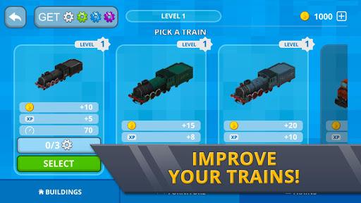 Railway Station Craft: Magic Tracks Game Training 1.0-minApi19 screenshots 11