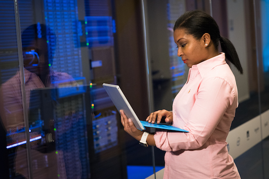 Saving data to a server is a great way to make sure data is backed up.