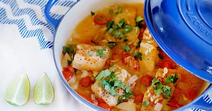 Fish with Coconut Sauce (Pescado Encocado) Recipe