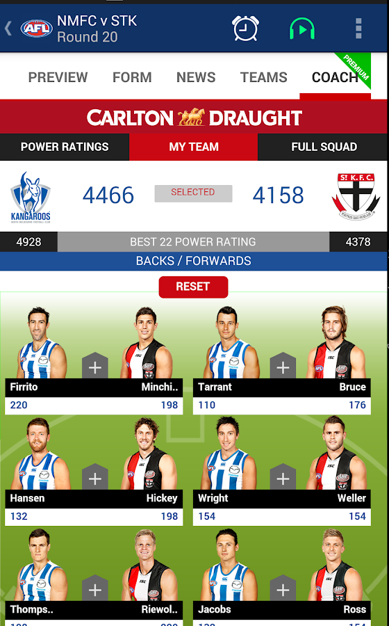 how to play in the afl