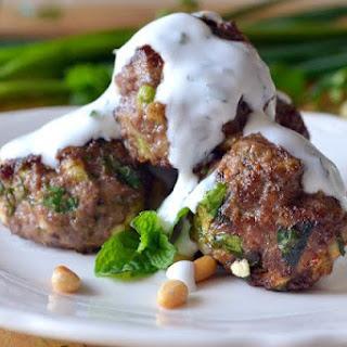 Lebanese Meatballs.