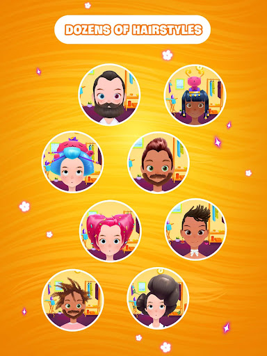 Hair salon games screenshot 12