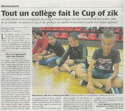 Photo: 2014-10-03 CO Tout un collège fait le Cup of zik