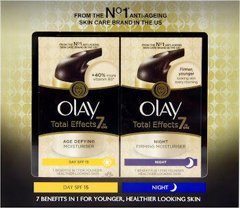 Olay Total Effects Day and Night Moisturiser Gift Pack - 2x37ml