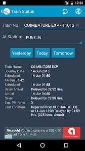 Indian Rail Train Status Apk Download For Android 8