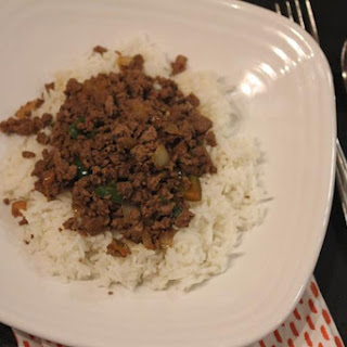 Easy Ground Beef Stir Fry.