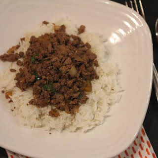 Easy Ground Beef Stir Fry.