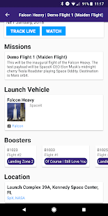 Next Spaceflight - Rocket Launch Schedule - náhled