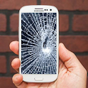 Broken Screen Crack Prank icon