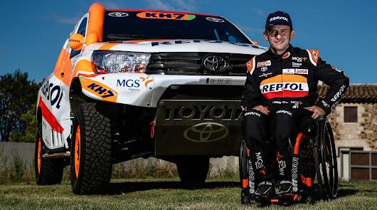 Toyota Alborán comunica el fichaje de Isidre Esteve para correr el Dakar 2021
