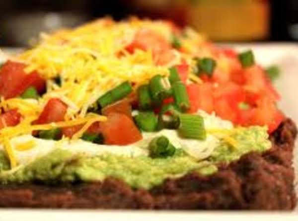 Spicy Layered Bean Dip Recipe