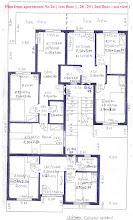 Photo: Κατόψεις των διαμερισμάτων Νο 24 ( 1ος όροφος ) , 28 , 29 (2ος όροφος ) -Plan from the apartments No 24 ( 1st floor ) , 28 , 29 (2nd floor )