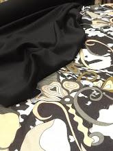 Photo: Ткань: Плательная, стиль Pucci, 80%- вискоза, 20%-шерсть, ш.140 см., 3200р. Ткань: Костюмно-платевая, double face super 150, 97%- шерсть, 3%-лайкра, ш.140см., 3200р.