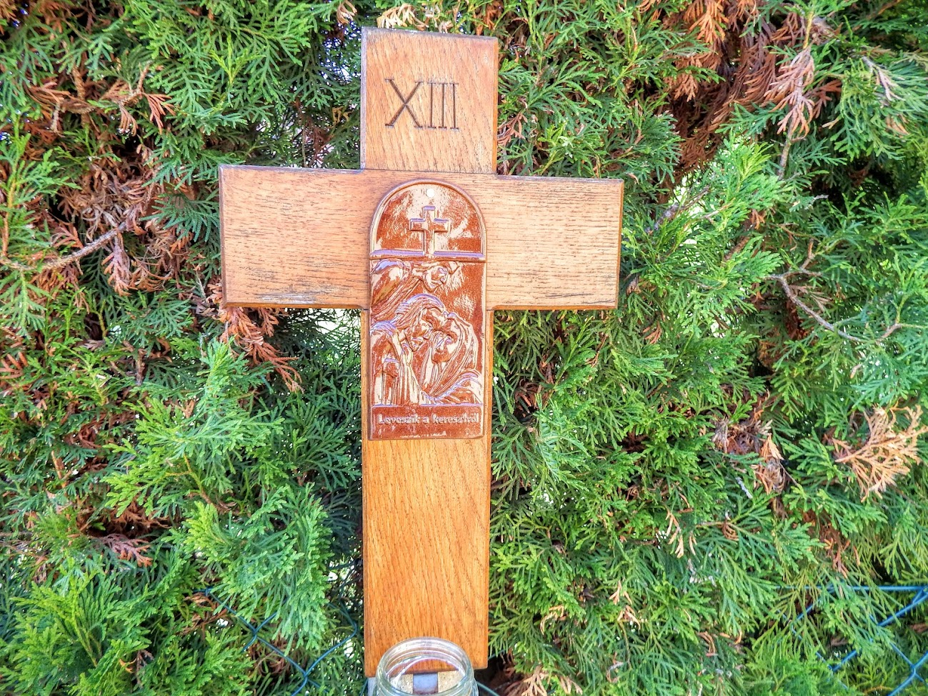 Körmend-Horvátnádalja - Keresztút a templom melletti kertben