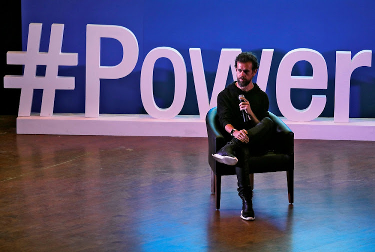 Twitter CEO Jack Dorsey addresses students during a town hall discussion at the Indian Institute of Technology in New Delhi, India, on November 12 2018. Picture: REUTERS/ANUSHREE FADNAVIS