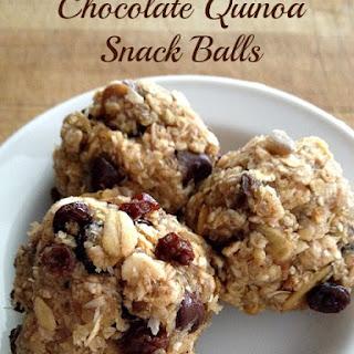 Chocolate Quinoa Snack Balls.