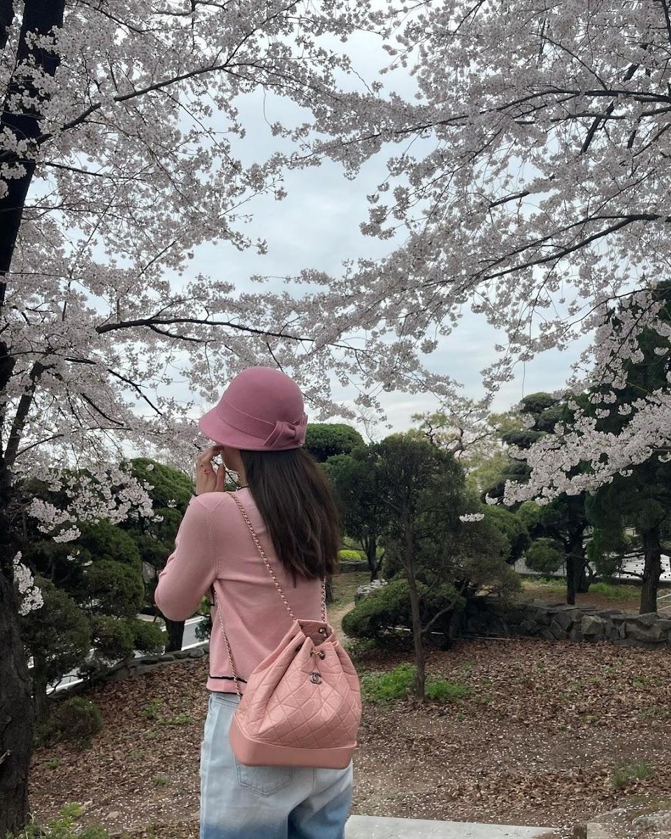 chanel backpack jennie