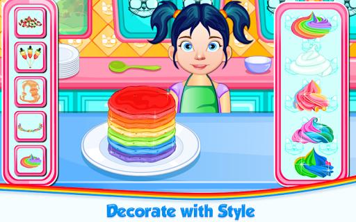 Code Triche Rainbow Pancakes Cooking APK MOD screenshots 6
