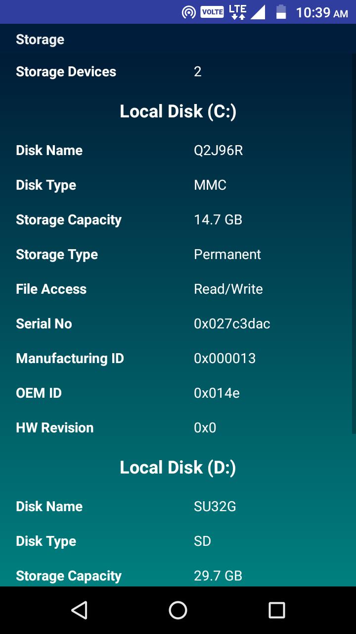 CPU Identifier Screenshot 4