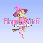 Flappy Witch Free