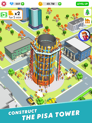 Idle Construction 3D screenshot 13