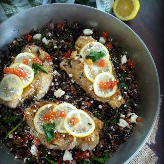 Mediterranean Chicken and Wild Rice Blend.