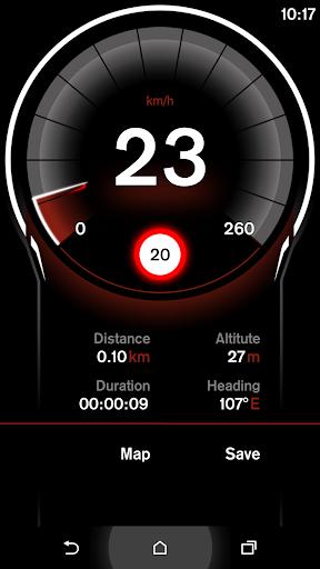 GPS速度表