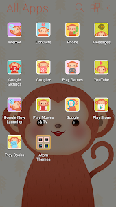Happy Monkey Year Atom Theme screenshot 4
