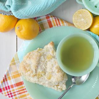 Meyer Lemon Mascarpone Scones Recipe